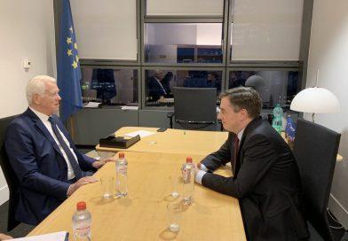 Eszmecsere Teodor Meleşcanu román külügyminiszterrel a román EU-elnökség prioritásairól