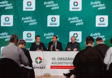 Az Erdélyi Magyar Néppárt 6. Országos Küldöttgyűlésének zárónyilatkozata