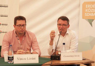"""Csomortányi István: """"Egy irányba kell dolgoznunk az SZNT európai polgári kezdeményezésének sikeréért!"""""""