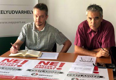 Székelyudvarhely: tüntetés és folytatódó Néppárt – MPP együttműködés