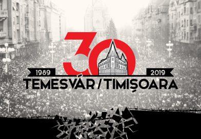 Temesvár 30 – emlékhét részletes programja