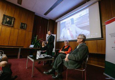 Elmaradt a kommunizmus pere – Borbély Ernő volt politikai fogolyinterjúkötetének bemutatója Budapesten