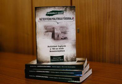 Bukarestben mutatják be Borbély Ernő könyvének román nyelvű kiadását