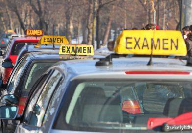 A gépjárművezetői jogosítvány-vizsgák is elmaradnak