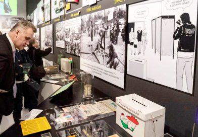 A rendszerváltás tárgyai a Nemzeti Múzeumban