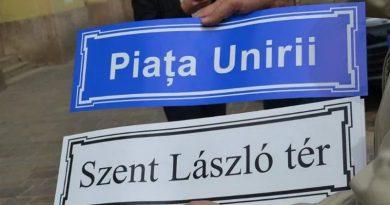 Magyar és angol nyelvű utca- és térelnevezések is lesznek Nagyváradon